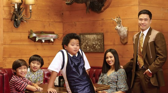 """The cast of """"Fresh Off the Boat."""""""