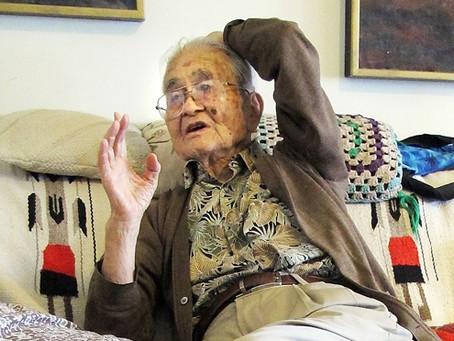帰米2世の山城正雄さん死去、102歳