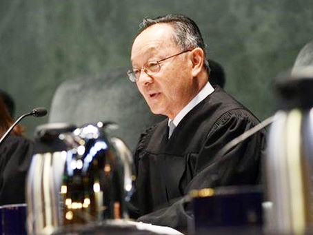 Justice Ming Chin to Retire from California Supreme Court