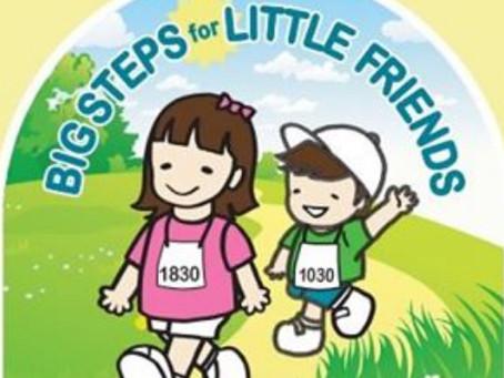 Big Steps for Little Friends 5K Run/Walk on Sunday