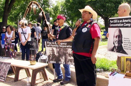 Multicultural Allies Gather at Fort Sill Rally