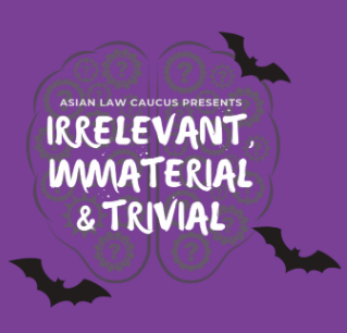 SAVE THE DATE: 'Irrelevant, Immaterial and Trivial' Competition