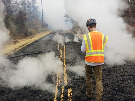 ハワイ島:18カ所で亀裂確認、溶岩や蒸気噴出