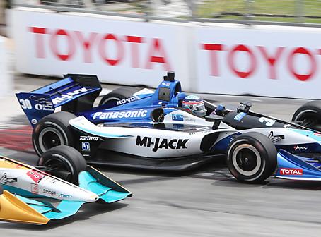 佐藤、接触響き無念の21位:トヨタグランプリ