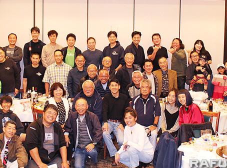 日系釣り仲間が合同忘年会:4団体、交流深め情報交換