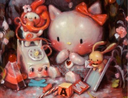 Hello Kitty 45th Anniversary Group Show