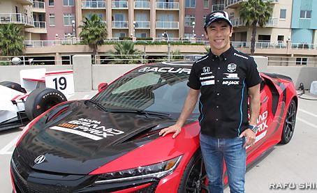 佐藤琢磨、2週連続優勝へ意欲:アキュラグランプリ、14日決勝