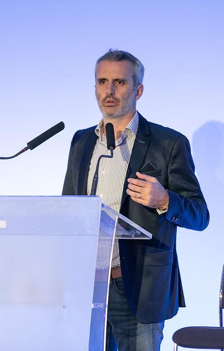 Dr Julien Drouin, lors du 2ème Congrès Européen de la Psychologie Énergétique qui s'est déroulé à Pa