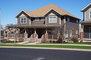 Exterior Photo of Two Family Home