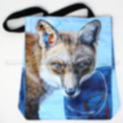Artiste peintre sac fourre-tout renard