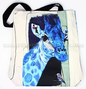 Sac fourre-tout girafe animaux