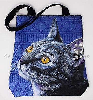 Sac fourre-tout Clara chat tote bag cat