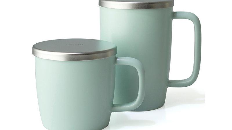Forlife Dew Brew-in-Mug w/ infuser & lid 18 oz.