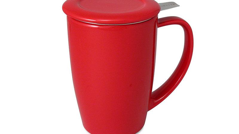 Forlife Curve Tall Tea Mug with Infuser & Lid 15oz.