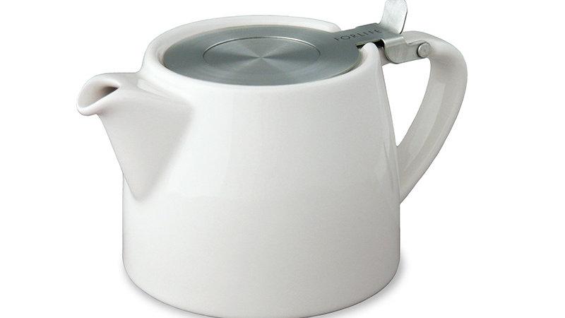 Forlife Stump Teapot with SLS Lid & Infuser 18 oz.