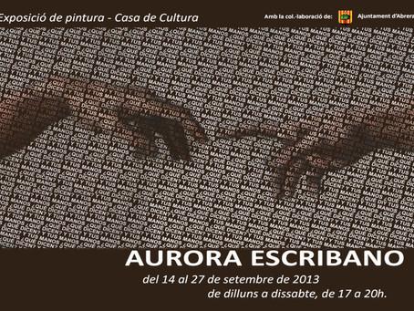 """Exposición """"Y tus manos, ¿qué dicen?"""" de Aurora Escribano"""