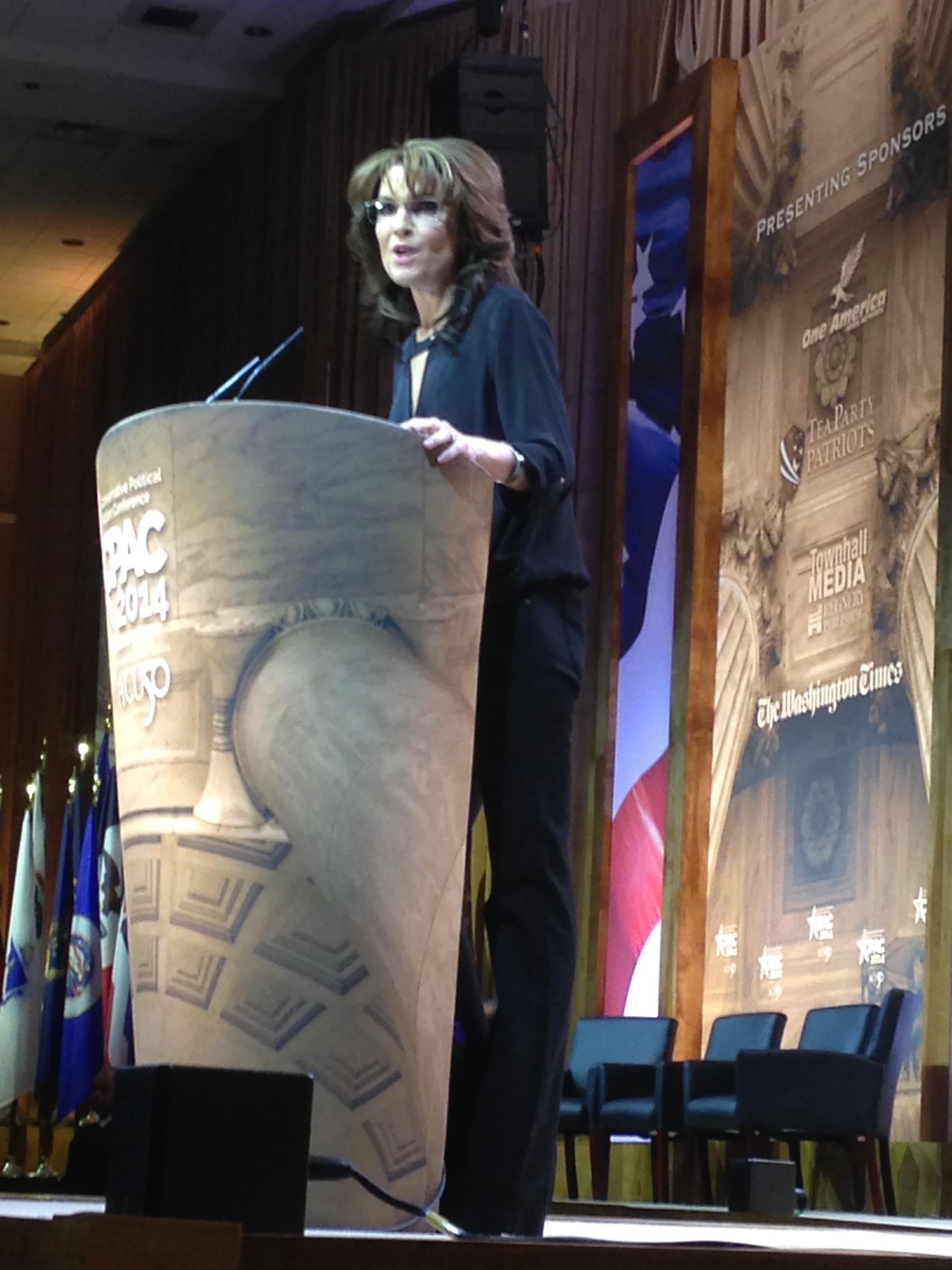 Sarah Palin Rocks CPAC