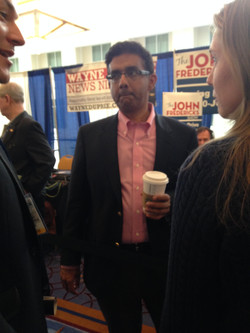 Dinesh D'Souza like Starbucks too!