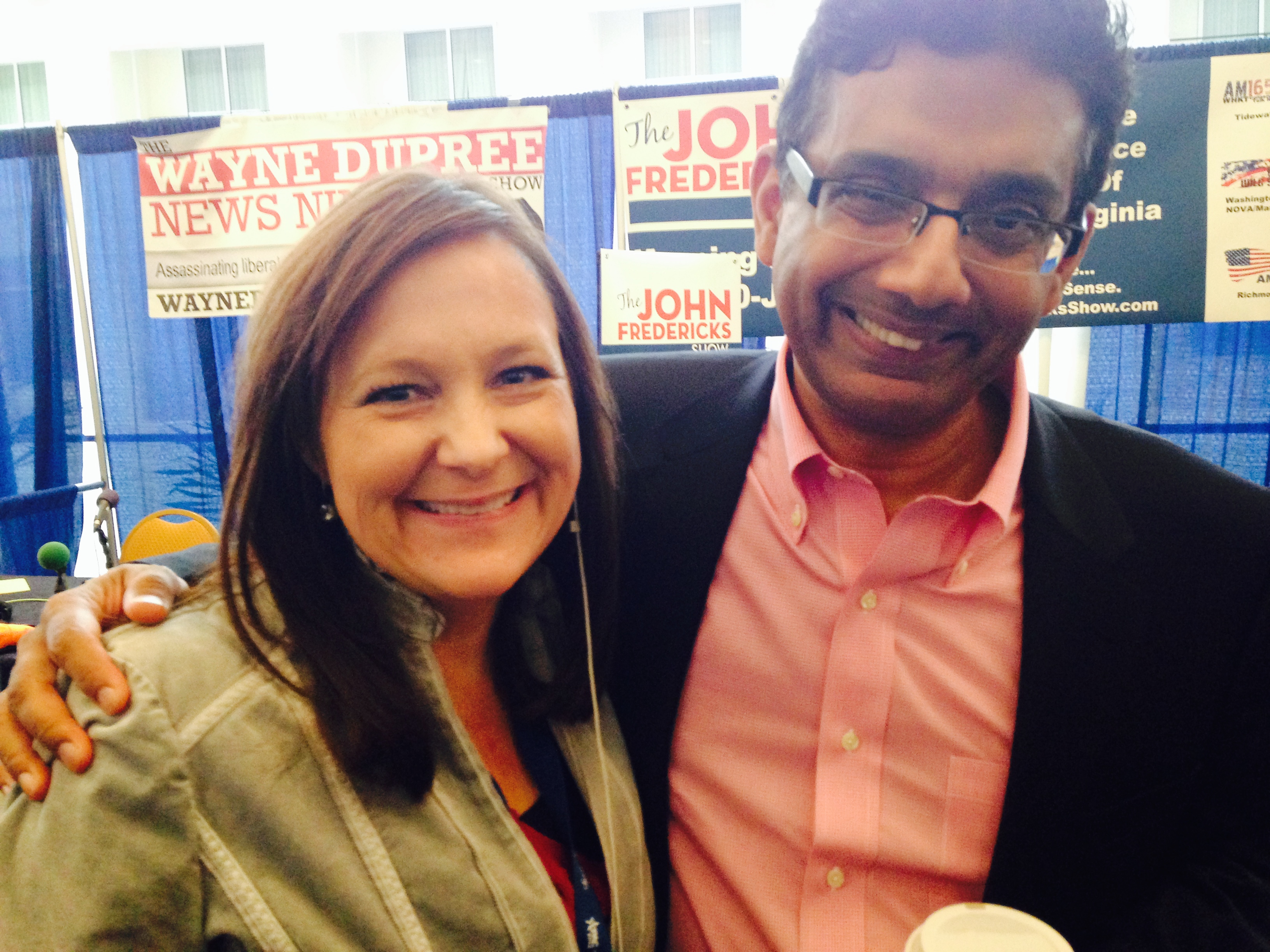 My hero...Dinesh D'Souza