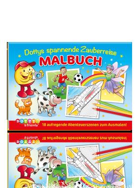 Dottys spannende Zauberreise Malbuch