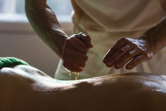 Professional Masseur Doing Deep Tissue O