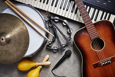 a group of musical instruments including
