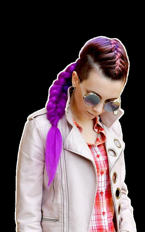 цветные косички в новороссийске, парикмахерская заплетает цветные косички