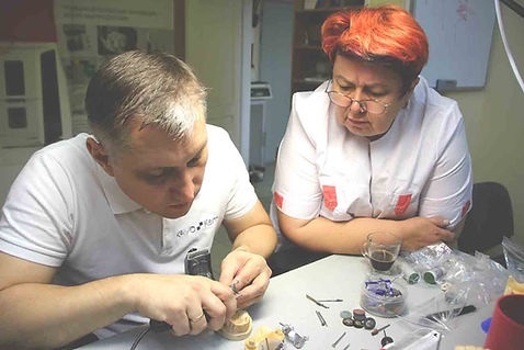 IDC, курсы для зубных техников, Виталий носов, техника бюгельного протезироания, BEGO