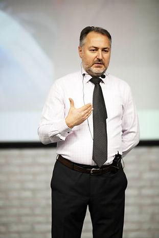 Евгений Рыблка на курсе