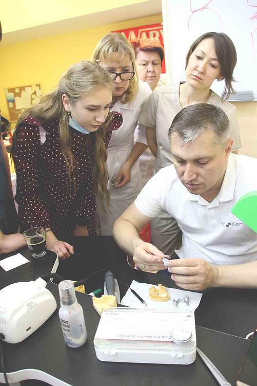 Курс Виталия Носова, бюгельное протезирование, курсы для зубных техников