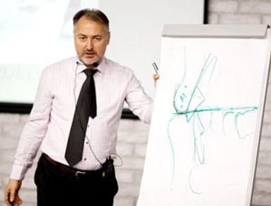 Евгений Рыбалка на курсе в Рстове-на-Дону в международном учебном центре в Ростове