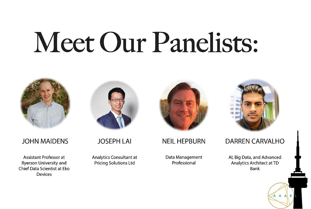 Panelist at Data, Analytics and AI Event