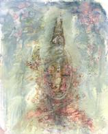 Goddess (arylic & pencil on paper)