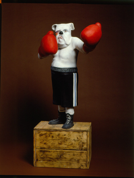 Boxer Boxer (fibreglass / wood)