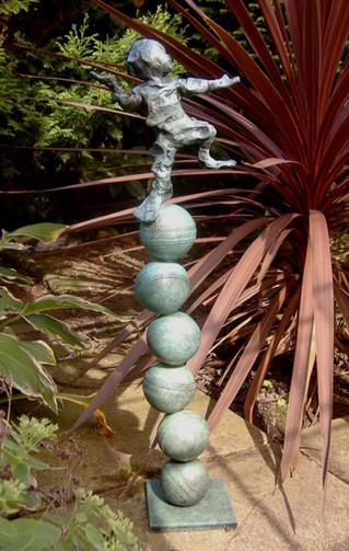 Over Balancing Act of God (bronze)