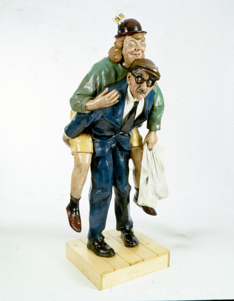 Love & Carriage (fibreglass / wood)