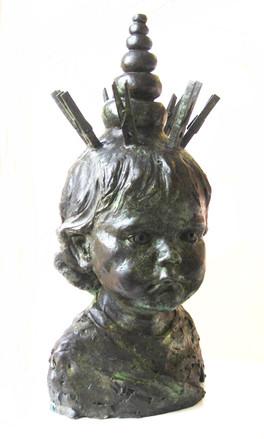 Monday's God (bronze)