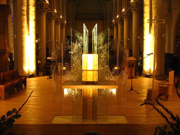 Tabernaclede la chapelle des frères Jean de la Mennais