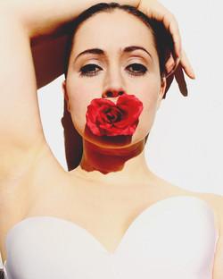 A Rose ad shoot.