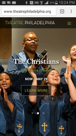 The Christians at The Wilma Theatre