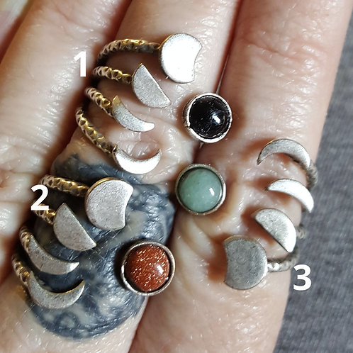Adjustable Moon Phase Rings