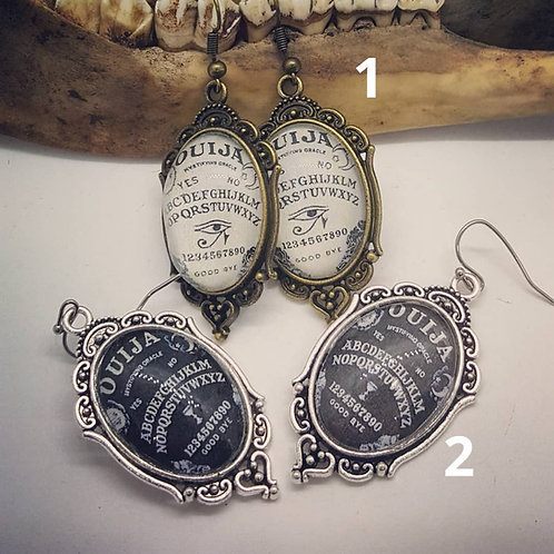 Ouija 18x25mm Earrings