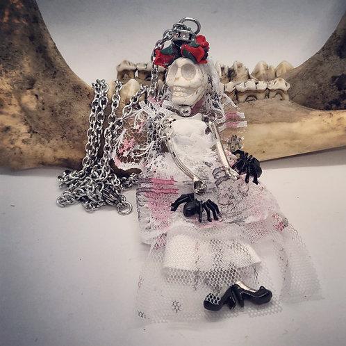 Day of the Dead Skelton Bride