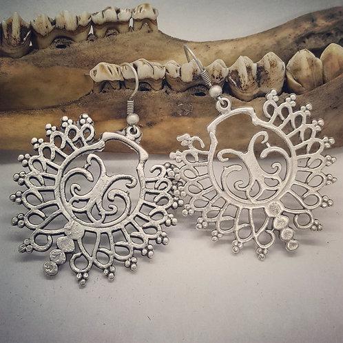 Mandala Style Earrings