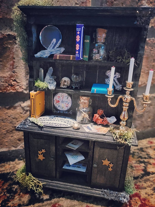 Miniature 1:12 Witch's Cabinet