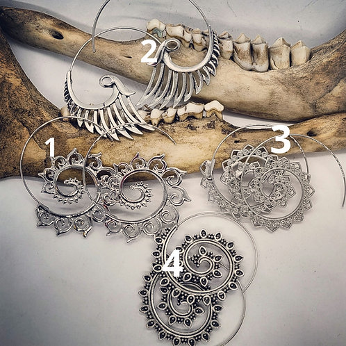 Boho Style Ear Wires