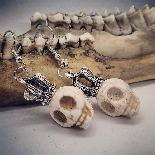 Skulls & Crowns Earrings