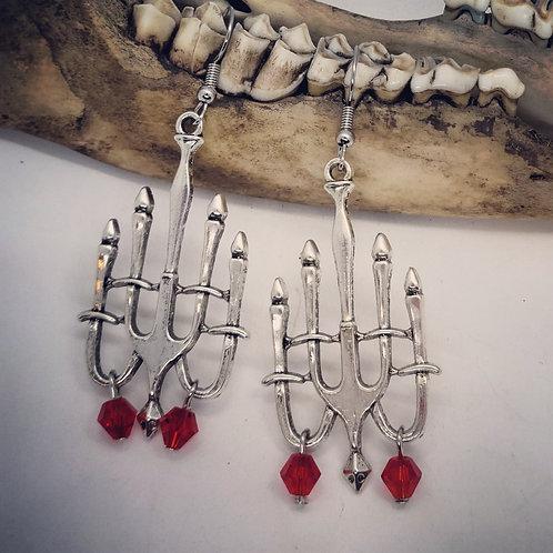 Gothic Chandlier Earrings