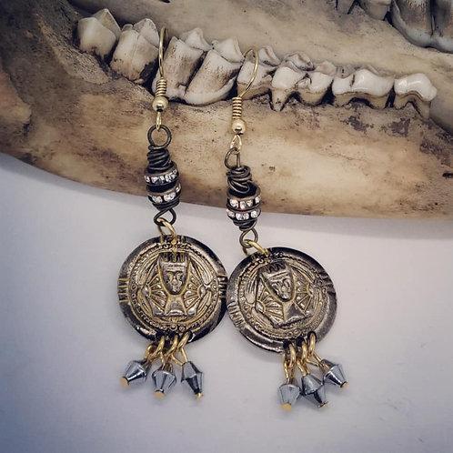 King Tut Earrings