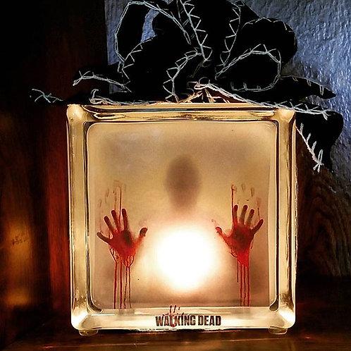 6x6 Walking Dead Block Lamp